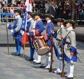 法国政权士兵 免版税库存图片
