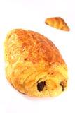法国新鲜的酥皮点心 库存图片