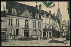 法国显示明信片 图库摄影