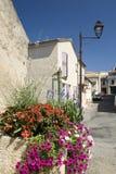法国普罗旺斯视图村庄 免版税图库摄影