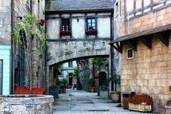 法国村庄样式是美好的建筑学 图库摄影