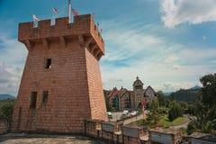 法国村庄, Bukit Tinggi在马来西亚 库存图片