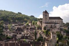 法国村庄 免版税库存照片