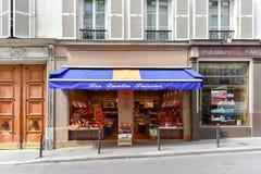法国果子商店 库存图片