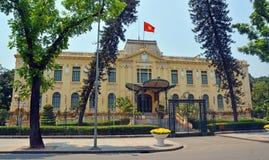 法国殖民地大厦在河内,越南 库存照片