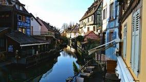 法国河 免版税图库摄影