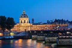 法国法国institue巴黎 图库摄影