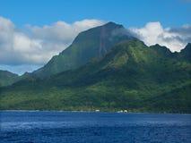 法国海岛moorea波里尼西亚 免版税库存图片