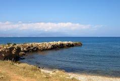 法国海滨 免版税图库摄影