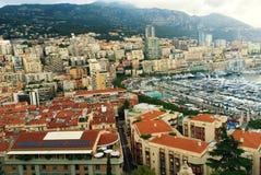 法国海滨 摩纳哥 克罗monte 港口 免版税图库摄影