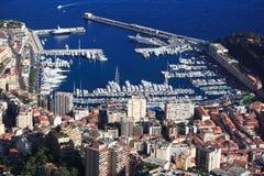 法国港口摩纳哥里维埃拉 免版税库存图片