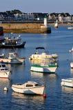 法国玛丽亚端口quiberon 免版税库存照片
