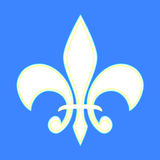 法国百合 免版税图库摄影