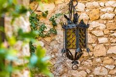 法国的南部的美丽如画的中世纪Eze村庄 免版税库存图片