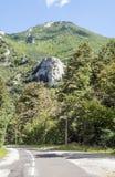 法国的山 免版税库存照片