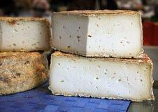 法国的干酪 免版税库存图片