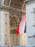 法国的旗子 库存图片