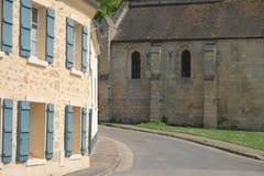 法国的村庄 图库摄影
