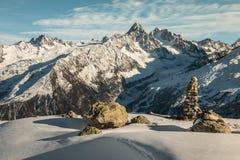 法国的阿尔卑斯 免版税库存照片