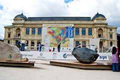 法国的1/50 000地质映射 免版税库存图片