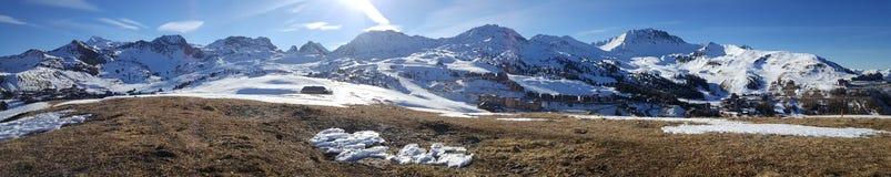 法国的alpes 免版税库存照片