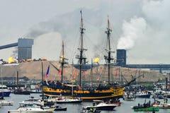 从法国的Etoile du罗伊船 库存照片