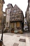 法国矮小的个老村庄 免版税库存照片