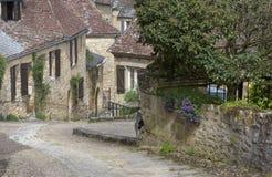 法国美丽如画的村庄 图库摄影