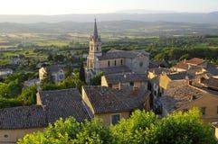 法国老村庄 库存照片