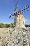 法国老风车 图库摄影