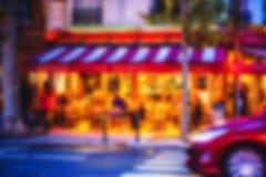 法国背景迷离 免版税图库摄影