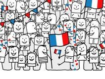 法国节假日国民 免版税库存图片