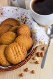 法国花生饼干 库存照片
