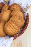 法国花生饼干 免版税库存照片