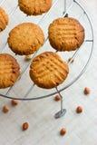 法国花生饼干 免版税库存图片