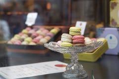 法国蛋白杏仁饼干 图库摄影