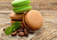 法国蛋白杏仁饼干 免版税图库摄影
