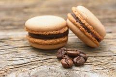 法国蛋白杏仁饼干 库存图片