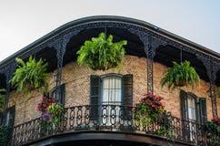 法国街区的-新奥尔良议院 图库摄影