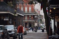 法国街区视图 库存照片