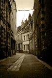 法国里尔老街道 库存照片