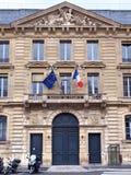 法国银行 巴黎 免版税库存照片