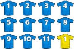 法国队衬衣 库存图片