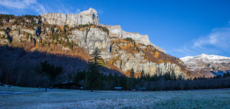 法国阿尔卑斯 免版税库存图片