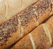 法国面包大面包 免版税库存图片