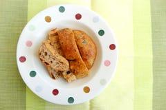 法国面包, Fougasse 免版税库存照片