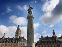 法国革命的雕象 库存照片