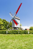 法国风车 图库摄影