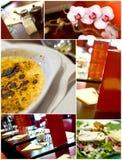 法国餐馆 库存照片