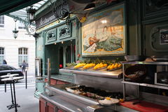 法国餐馆 免版税库存图片